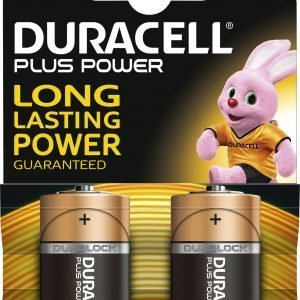 Duracell Plus Power C Paristo 2 Kpl / Pkt