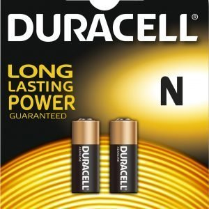 Duracell Security N / Mn9100 Paristo 2 Kpl / Pkt