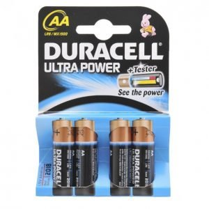 Duracell Ultra Power Aa Alkaliparisto 4 Kpl