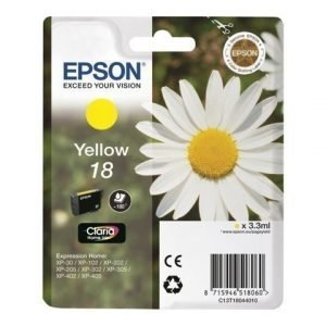 EPSON 1-Pack Yellow 18 Claria Home Ink