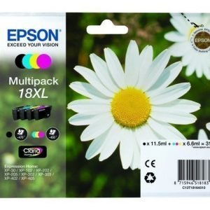 EPSON Multi-Pack 4-Col 18XL Claria Home Ink