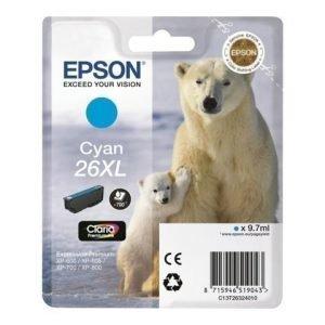 EPSON Tinte Singlepack Cyan 26XL