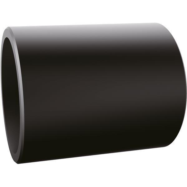 EPZI Putki liitos alumiini musta