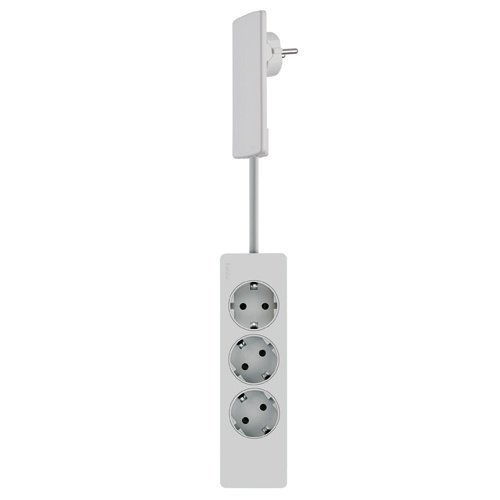 EVOline Powerstrip 3-V White