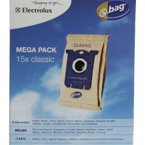 Electrolux E200m S-Bag Megabag Pölypussi 15 Kpl / Pkt