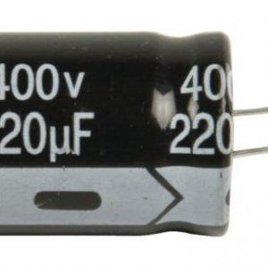 Elko 220uf 400 V 105°