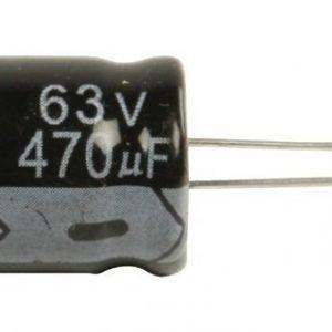 Elko 470uf 63 V 105°