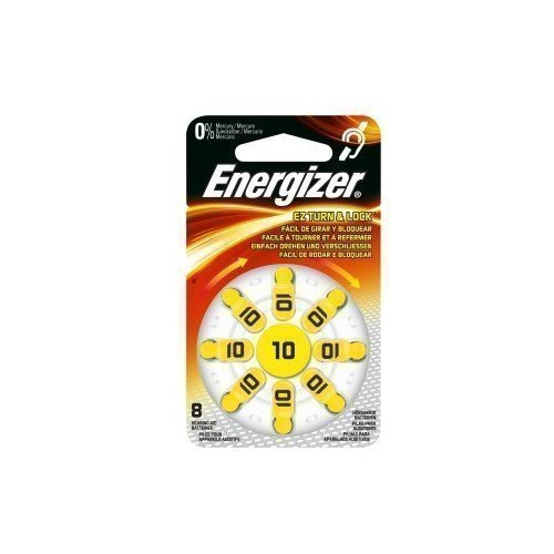 Energizer Cell Zinc Air 10 Hearing 8-pack
