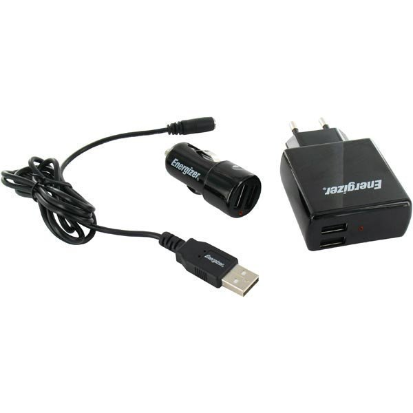 Energizer Hightech 3in1 charger 2USB / 2Amp for Nokia