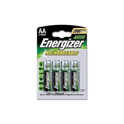 Energizer NiMH 2000 mAh AA 4-pack