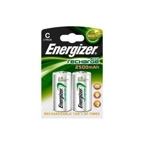 Energizer NiMH 2500 mAh C LR14 2-pack