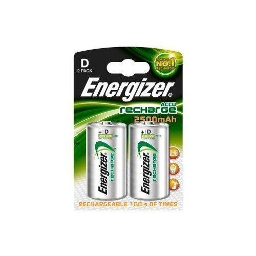 Energizer NiMH 2500 mAh D LR20 2-pack