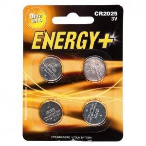Energy+ Cr2025 Nappiparisto 4 Kpl