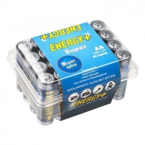 Energy+ Super Aa Alkaliparisto 24 Kpl