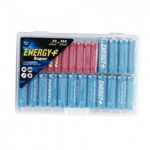 Energy+ Super Paristo 20 Kpl Aa + 32 Kpl Aaa