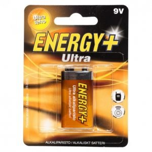 Energy+ Ultra Alkaliparisto 9 V