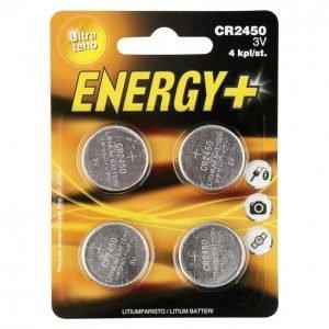 Energy+ Ultra Cr2450 Nappiparisto 4 Kpl