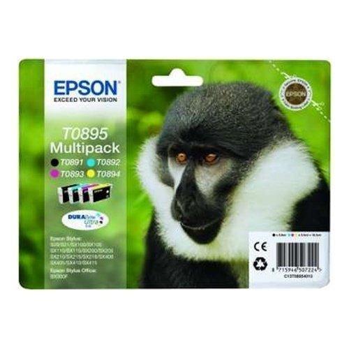 Epson T0895 Multi Pack B/C/M/Y