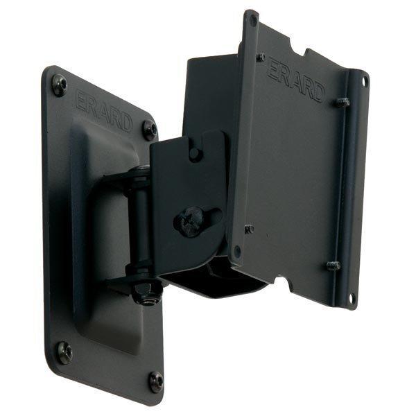 """Erard Applik 2453 S seinäkiinnike 15-23 15kg VESA75-100 musta"""""""