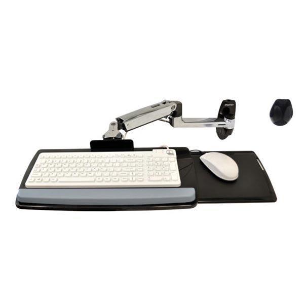 Ergotron edu Keyboard Arm w 9 extn wall mount