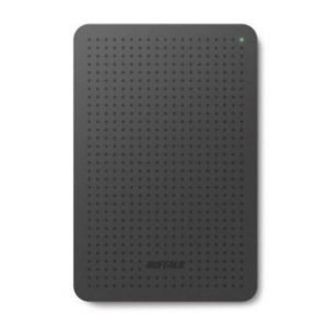 Extern-2.5 Buffalo MiniStation 500GB External HDD USB 3.0 Black