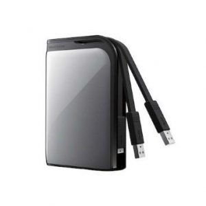 Extern-2.5 Buffalo MiniStation Extreme 500GB 2.5 USB 3.0 Silver