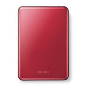 Extern-2.5 Buffalo MiniStation Slim 500GB 2.5 USB 3.0 Red