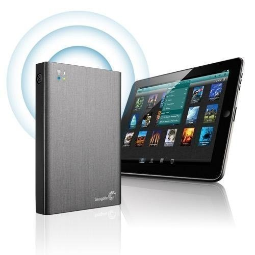 Extern-2.5 Seagate Wireless Plus 1TB 2.5 USB 3.0 Silver