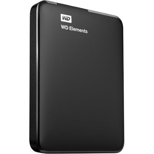 Extern-2.5 WD Elements 1TB 2.5 USB 3.0 Black