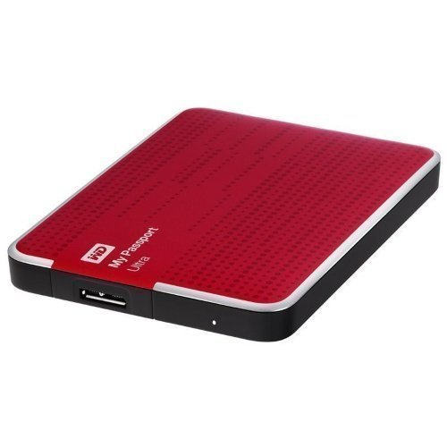 Extern-2.5 WD My Passport Ultra 1TB USB 3.0 RED