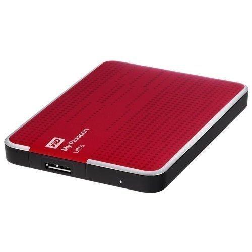 Extern-2.5 WD My Passport Ultra 1TB USB 3.0 RED