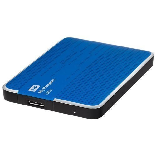 Extern-2.5 WD My Passport Ultra 2TB USB3.0 Blue