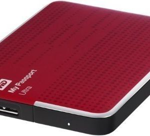 Extern-2.5 WD My Passport Ultra 500GB 2.5 USB 3.0 Red