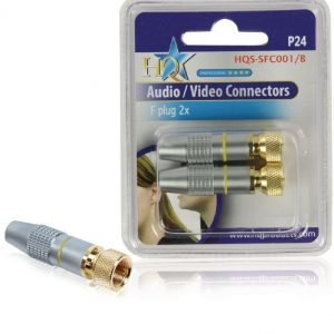 F-Connector (2x)