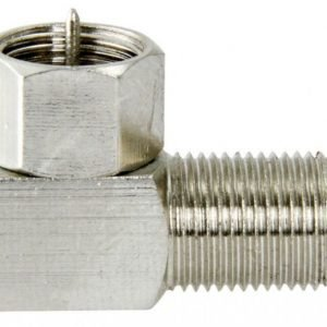 F-connector with screw cap