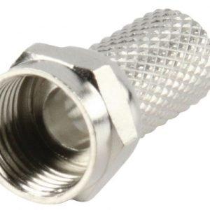 F-liitin kierrettävä 6.4 mm