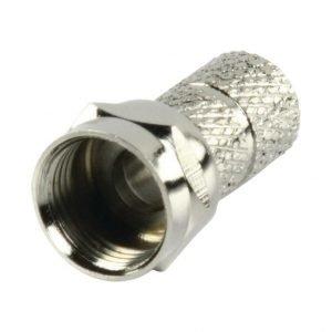 F-liitin kierrettävä professional quality 6.4 mm