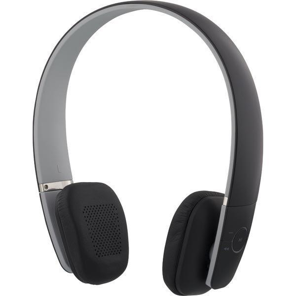 F1 Vita Bluetooth-kuulokkeet mikrof. BT 4.0 kokoontaitettava musta