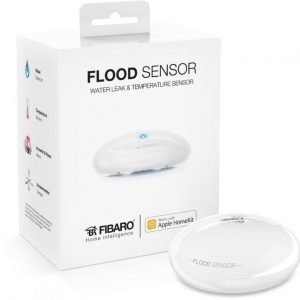 FIBARO Flood Sensor works with Apple HomeKit