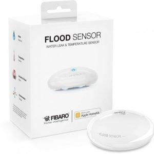 FIBARO Flood Sensor works with Apple HomeKit