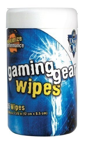 Falcon Safety Products Dust-Off Rengöring Gaming Gear Wipes ''On-the-go'' 35st