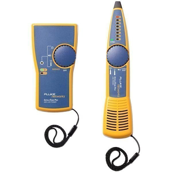 Fluke IntelliTone Pro 200 LAN Kit Toner+Probe kelt/sin