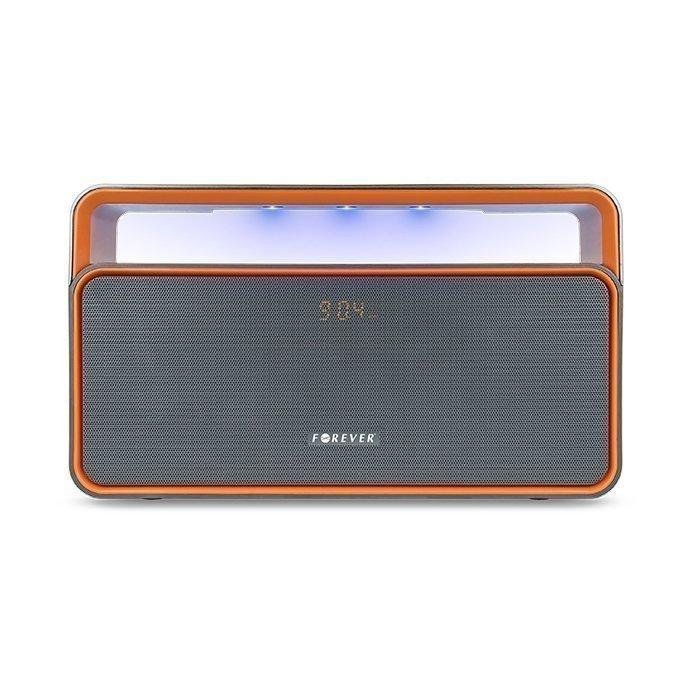 Forever Bluetooth kaiutin radiolla - BS-600 - Harmaa / oranssi