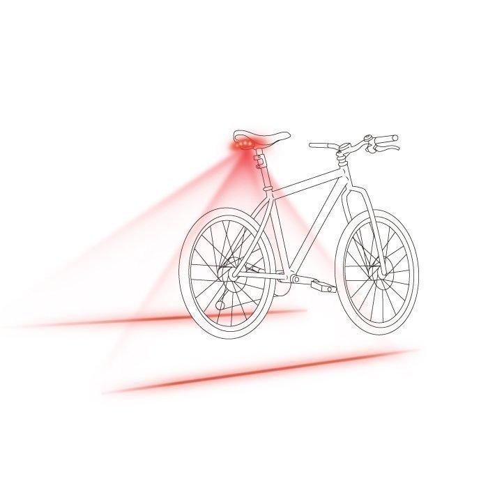 Forever Polkupyörän Takavalo laserilla