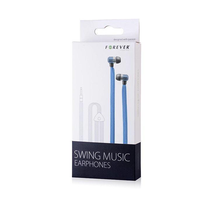 Forever Swing Music Nappikuulokkeet - Sininen