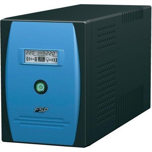 Fortron Source [FSP] UPS FSP EP2000 USB/LCD 3x IEC + 3x SCHUKO RJ11/RS232 2x 12V9AH 1200W