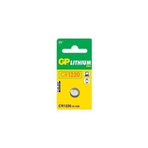 GP 3V CR1220 Lithium Cell 1-pack