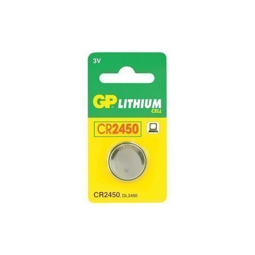 GP 3V CR2450 Lithium Cell 1-pack