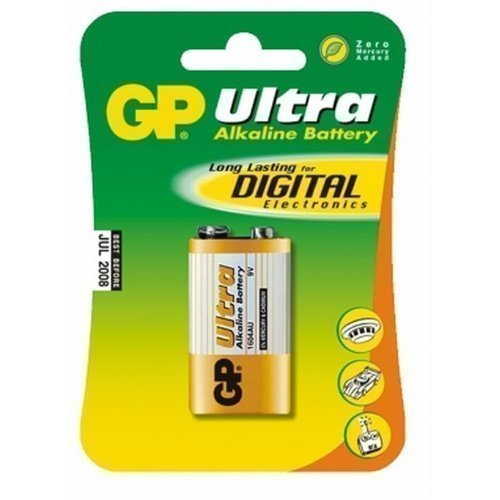 GP 9V Ultra Alkaline 6LF22 1-pack