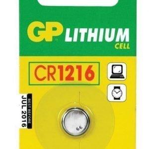 GP CR 1216 Lithium